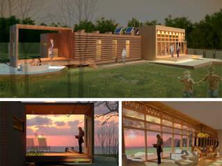 Casas de estilo moderno de PLANETARK ARQUITECTOS Moderno
