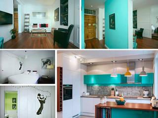 Reforma de piso Casas de estilo minimalista de PLANETARK ARQUITECTOS Minimalista