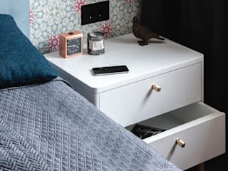 Прикроватная тумба HORDUR в интерьере спальни:  в . Автор – LATITUDE_MOSCOW