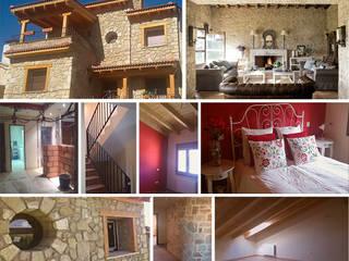 Reforma de chalet Casas de estilo colonial de PLANETARK ARQUITECTOS Colonial