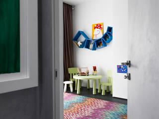 Полка FlexShelf set 106 в детской комнате для мальчика:  в . Автор – LATITUDE_MOSCOW