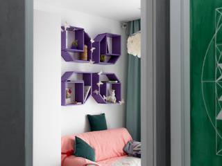 Полка FlexShelf set 211 в детской комнате для девочки:  в . Автор – LATITUDE_MOSCOW