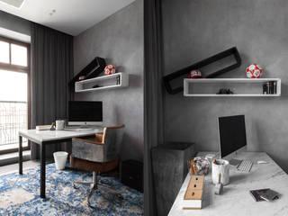 Полка FlexShelf set 107 в рабочем кабинете:  в . Автор – LATITUDE_MOSCOW