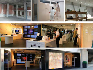 Local comercial Centros comerciales de estilo moderno de PLANETARK ARQUITECTOS Moderno