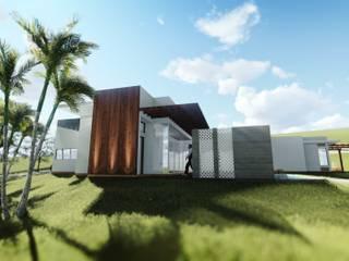 Casa 1: Casas  por Numen - Arquitetura e Urbanismo,Moderno