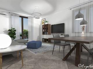 Ruang Keluarga Modern Oleh Easy Relooking Modern