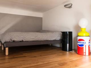 Loft nel cuore di Milano Camera da letto in stile industriale di Easy Relooking Industrial