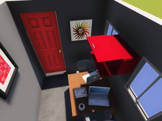 : Estudios y oficinas de estilo  por H+R ARQUITECTOS