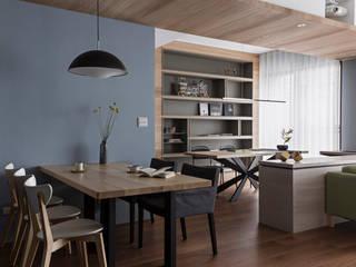 Dining room by 賀澤室內設計 HOZO_interior_design, Eclectic