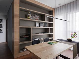 Phòng học/văn phòng phong cách chiết trung bởi 賀澤室內設計 HOZO_interior_design Chiết trung