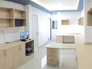 H+R ARQUITECTOS Modern study/office