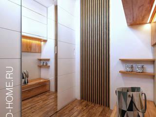 ТАУНХАУС, КЕМБРИДЖ, 120М2: Гардеробные в . Автор – Loft&Home