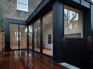 St Paul Street:  Houses by Ciarcelluti Mathers Architecture, Minimalist