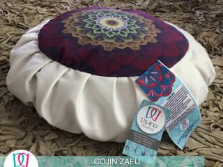 Cojín Zafu Mandala Aprendizaje :  de estilo  por Divina Diseños Decoración