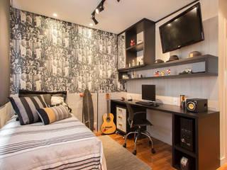 Dormitorios de estilo ecléctico de Espaço Alessandra Luz Casa & Jardim Ecléctico