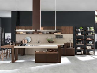 Un sueño hecho cocina: Cocinas de estilo moderno por Euro Deco