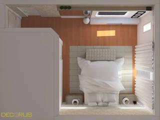 DECORUS móveis sob medida Kamar Tidur Modern