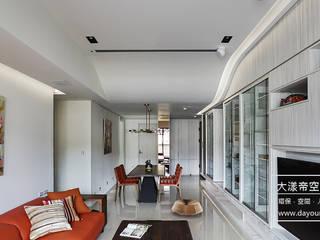DYD INTERIOR大漾帝國際室內裝修有限公司 Livings de estilo moderno