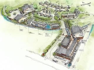 那須コミュニティービレッジ構想: 羽鳥建築設計室が手掛けた家です。