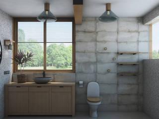 Artcrafts Baños de estilo industrial