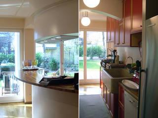 Abitazione privata a Francoforte Cucina eclettica di Studio di Architettura Parodo Eclettico