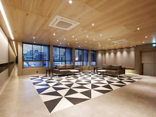 포스트스크립 스튜디오인 CIC(creative image company) 사무실 모던스타일 거실 by 바나나피쉬 모던