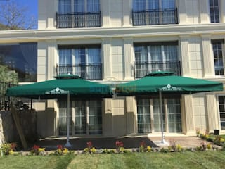 Akaydın şemsiye Pool Aluminium/Zinc Green