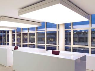 Empfangstheke:  Bürogebäude von HO³ Häusler Ortmann Innenarchitekten