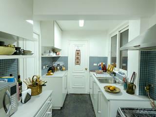 Küche von Grupo E Arquitectura y construcción, Modern