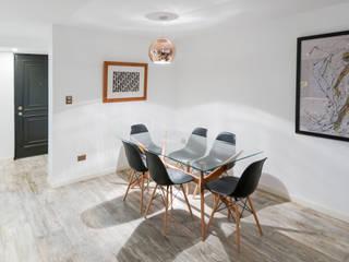 Ruang Makan oleh Grupo E Arquitectura y construcción, Modern
