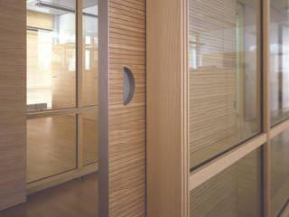 Trennwandsystem in Esche:  Bürogebäude von HO³ Häusler Ortmann Innenarchitekten