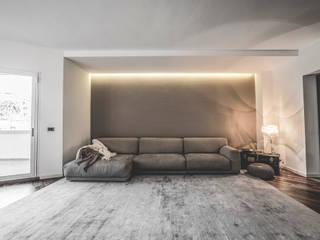 Minimalistische woonkamers van MODO Architettura Minimalistisch