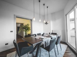 Livings de estilo minimalista de MODO Architettura Minimalista