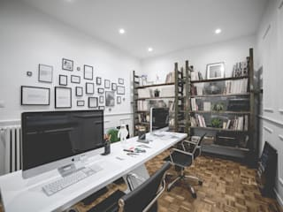 MODO Architettura Modern Study Room and Home Office