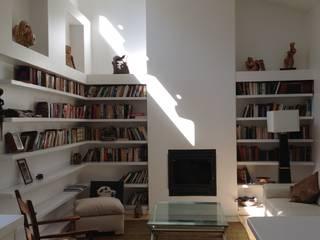 Salas / recibidores de estilo  por Grupo E Arquitectura y construcción, Rústico