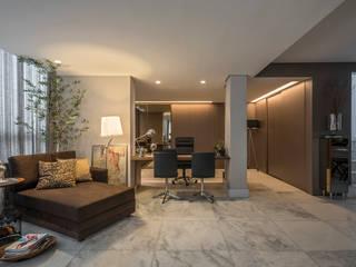 Estudios y oficinas de estilo  por Andréa Buratto Arquitetura & Decoração
