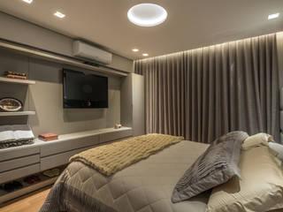 moderne Schlafzimmer von Andréa Buratto Arquitetura & Decoração