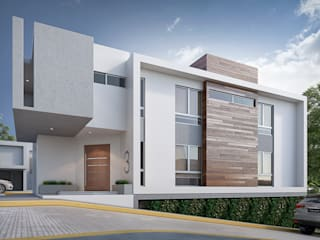 Casa AUSTRIA Casas modernas de Estudio Colectivo de Arquietctura Moderno