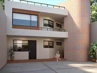 Ampliación remodelación Casa RV Casas modernas de Estudio Colectivo de Arquietctura Moderno