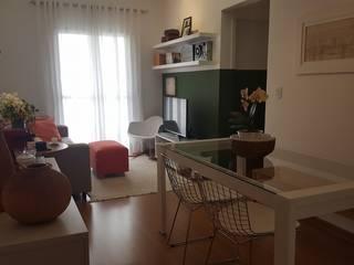 Apartamento TBO Salas de estar modernas por Arkete Arquitetura e Sustentabilidade Moderno