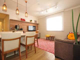 Condecorar Arquitetura e Interiores ห้องนั่งเล่น