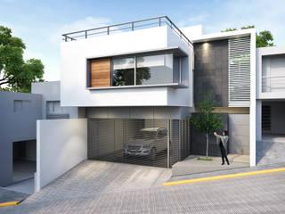 Casa TCN Casas modernas de Estudio Colectivo de Arquietctura Moderno