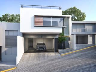 Modern houses by Estudio Colectivo de Arquietctura Modern