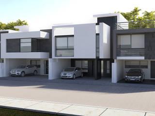 Conjunto habitacional Europa: Casas de estilo  por Estudio Colectivo de Arquietctura