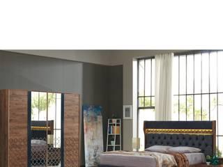 PAMEN MOBİLYA ( Öztürk Mobilya & Tasarım) – AMOR YATAK ODASI: modern tarz Yatak Odası
