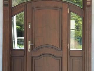 Drzwi wejściowe łukowe od Stolarka Mikos Klasyczny
