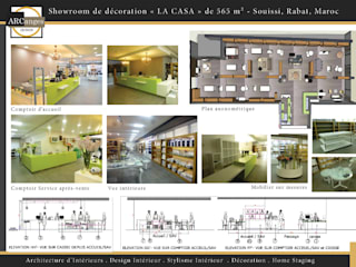 Boutique de Décoration, Art de la table et Linge de maison:  de style  par ARCanges Design