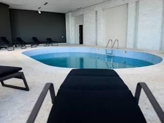 SPA de l'Hotel Farah 5*- 657m² - Tanger, Maroc : Spa de style  par ARCanges Design