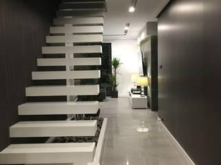 Modern Koridor, Hol & Merdivenler Fabryka Wnętrz Modern