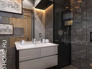 КП МАРСЕЛЬ, АВТОРСКИЙ ДИЗАЙН: Ванные комнаты в . Автор – Loft&Home